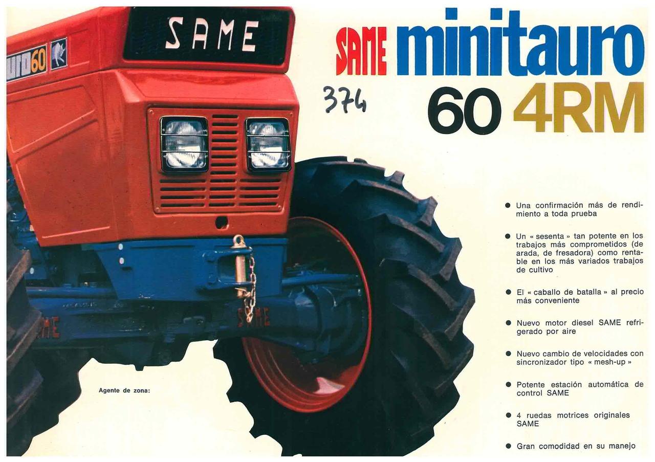 MINITAURO 60 - 4 RM