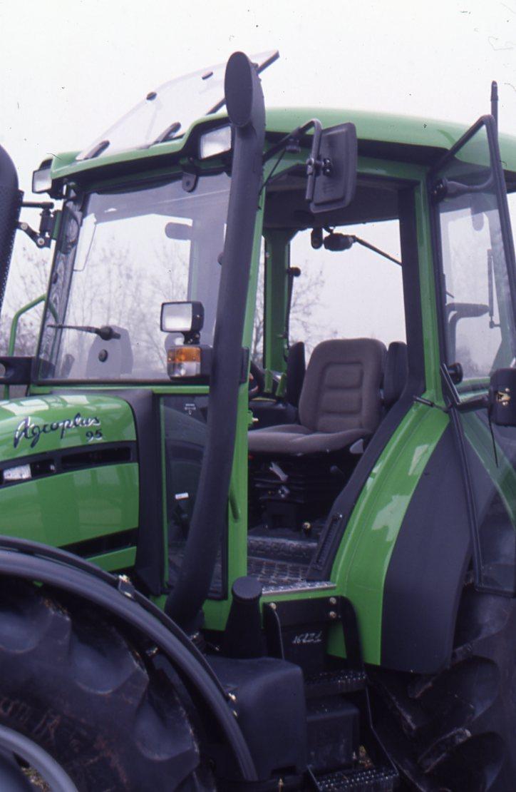 [Deutz-Fahr] trattore Agroplus 95 dettagli