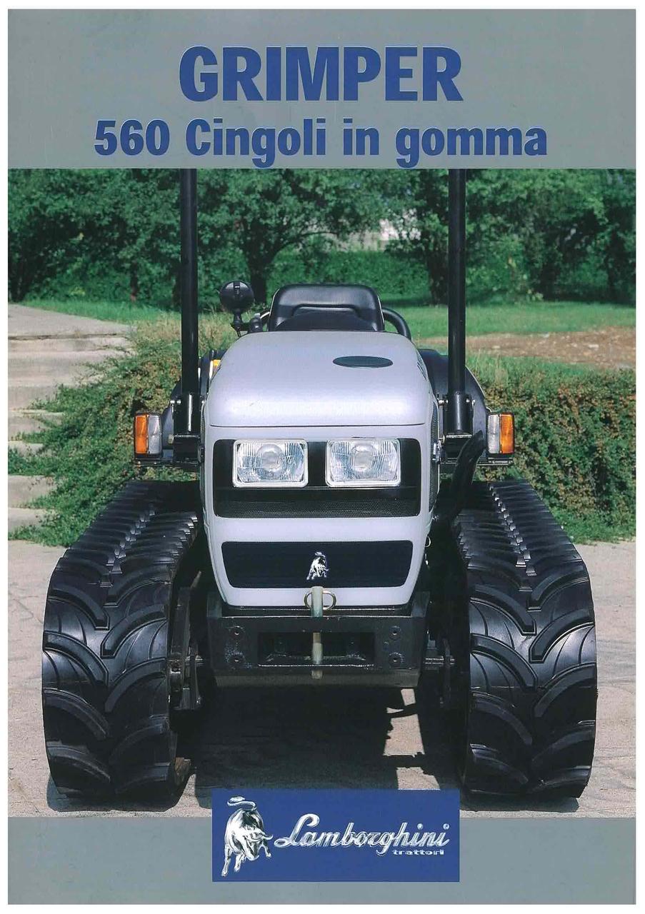 GRIMPER 560 Cingoli in gomma