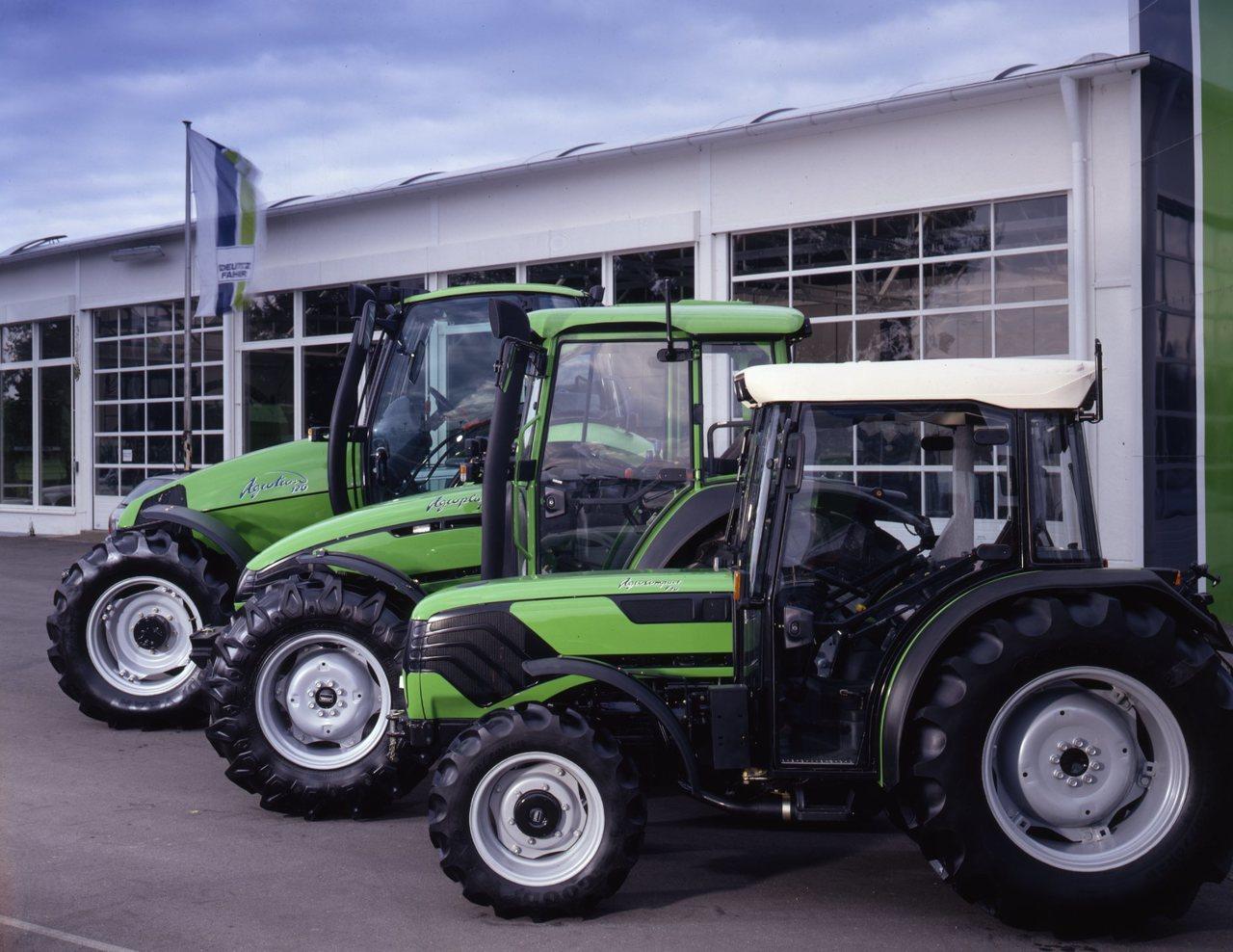 [Deutz-Fahr] trattori Agrotron 120, Agroplus e Agrocompact 70 F