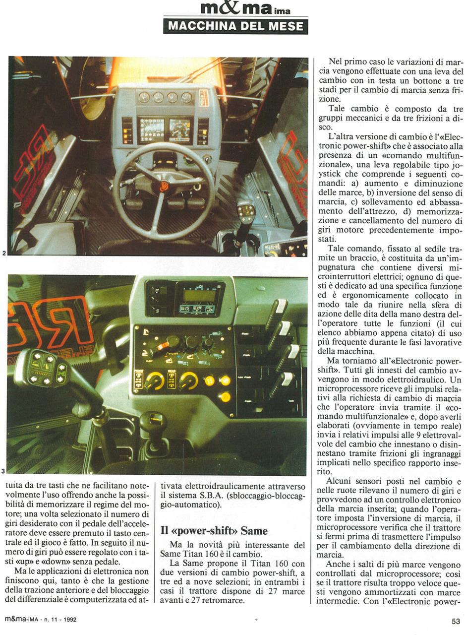 SAME Titan 160, il trattore dell'ultima generazione