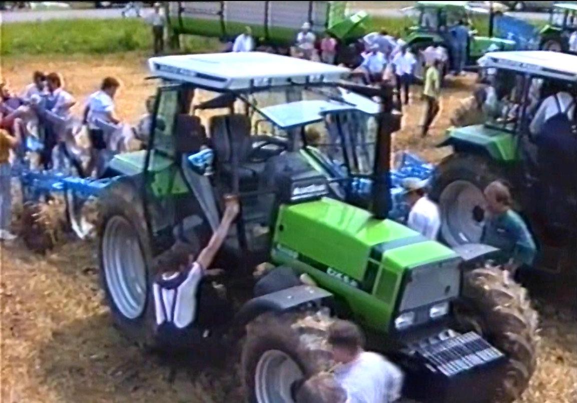 Agritechnica Spezial - Deutz-Fahr Neuheiten 1990