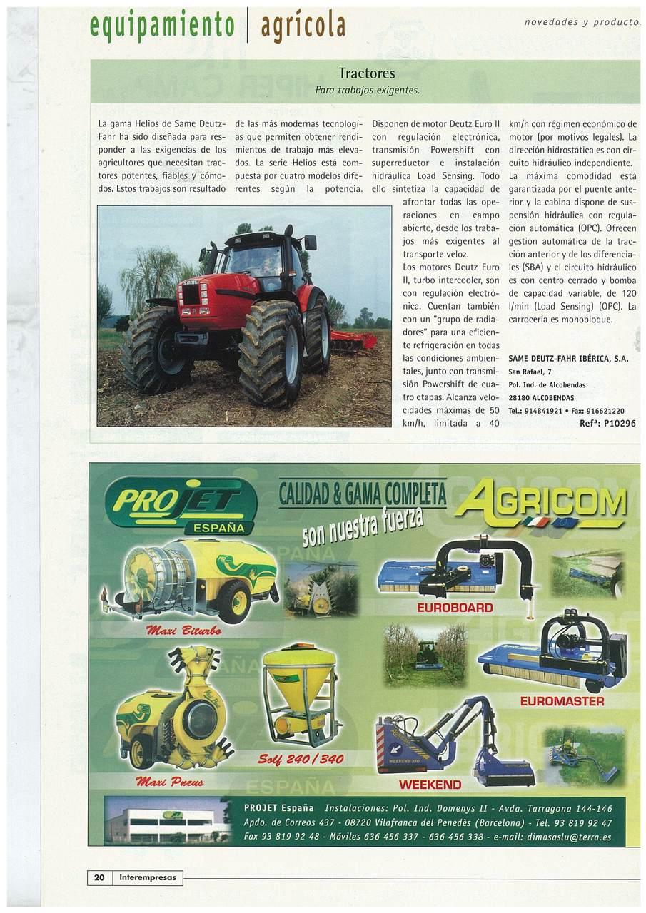 Tractor: para trabajos exigentes