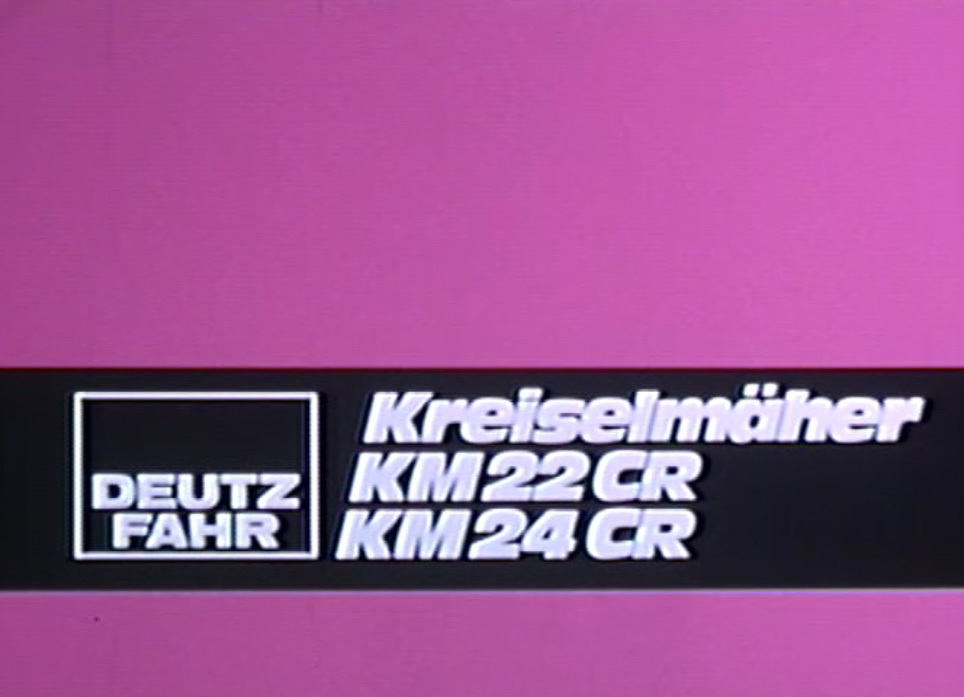 Deutz-Fahr Kreiselmäher KM 22 CR - KM 24 CR