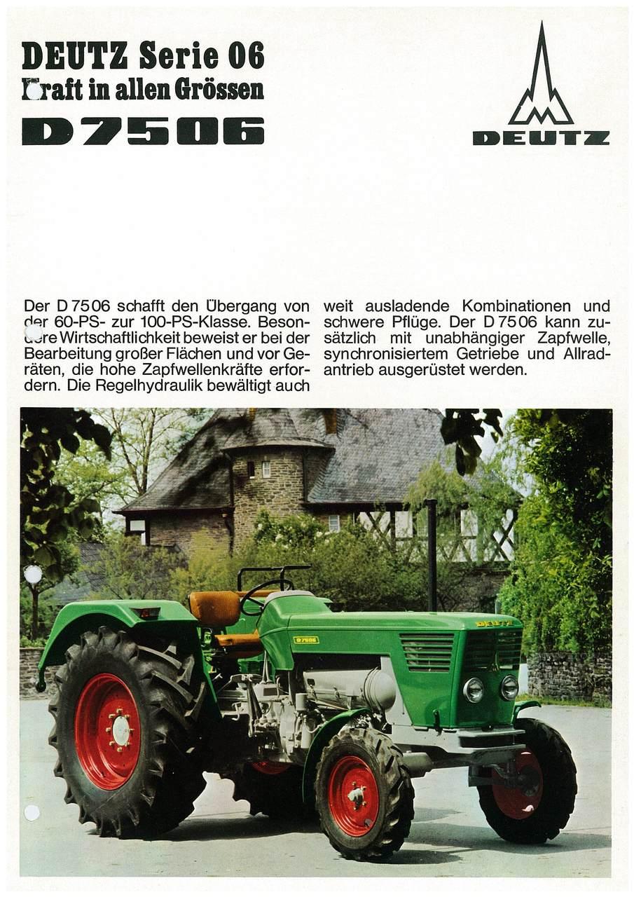 D 7506 - KRAFT IN ALLEN GRÖSSEN