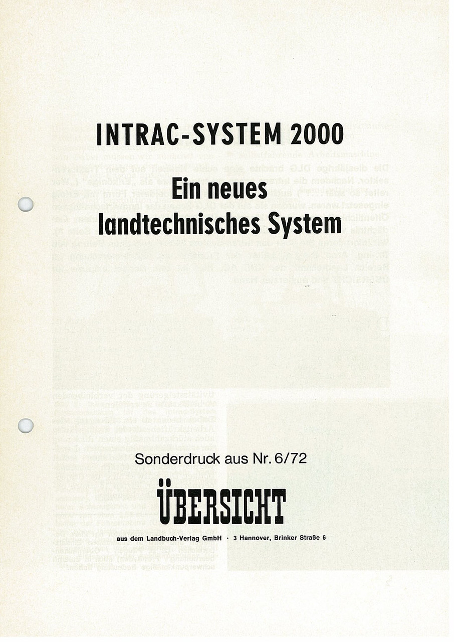 INTRAC SYSTEM 2000