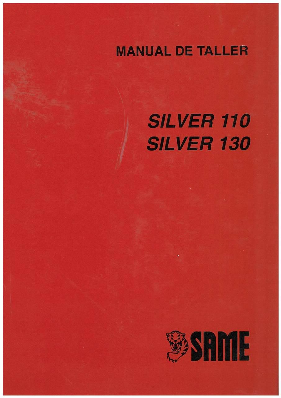 SILVER 110-130 - Manual de taller
