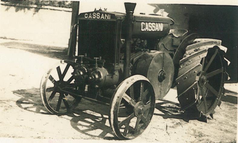 Trattrice Cassani 40 HP