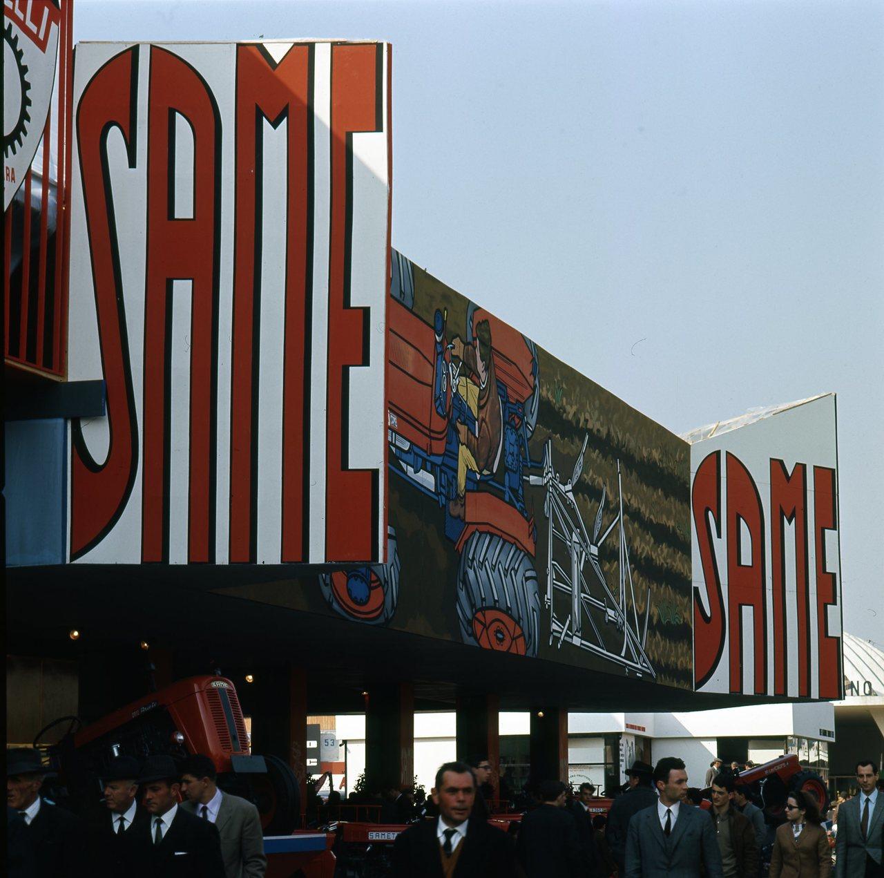 Fotocolor SAME Fiera di Verona, 1966