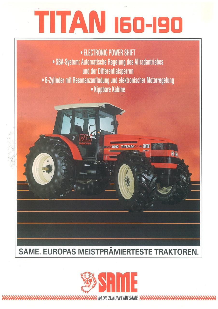 TITAN 160 - 190