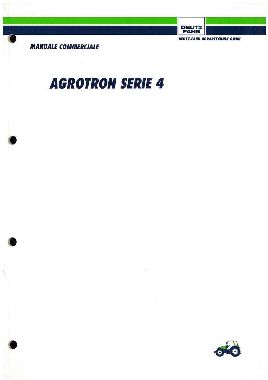 Agrotron serie 4 - manuale commerciale