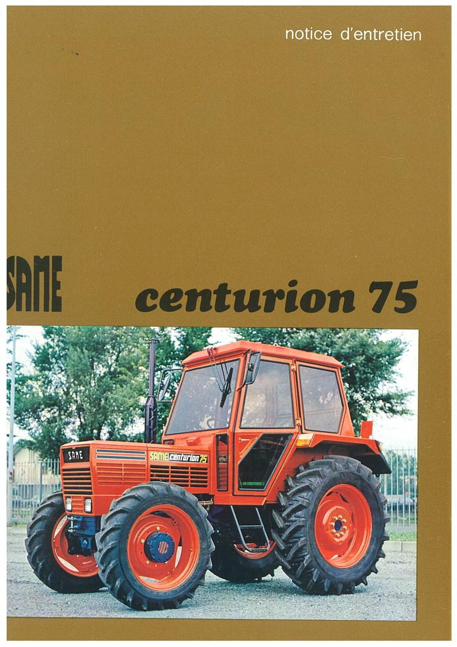 CENTURION 75 - Utilisation et entretien