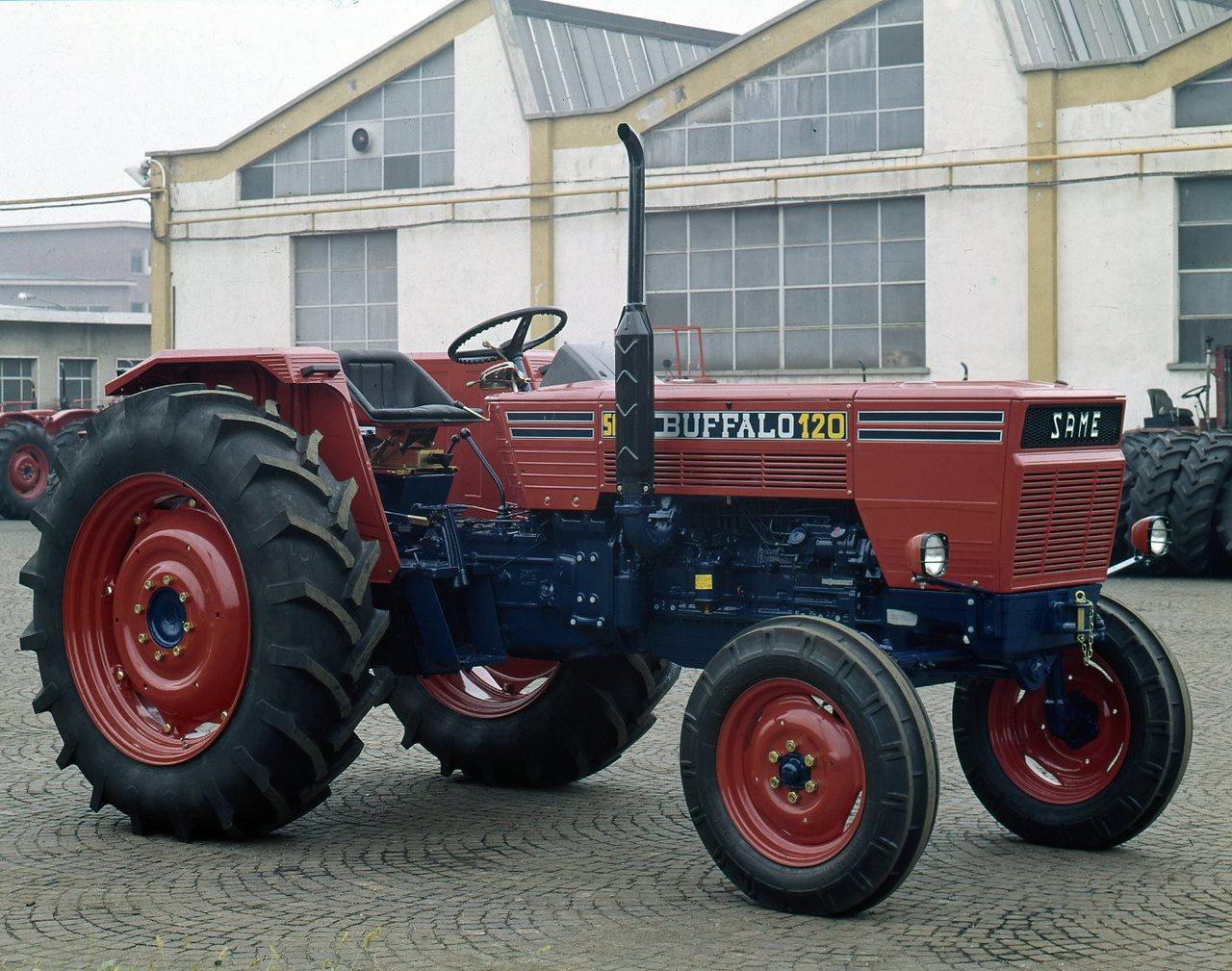 [SAME] trattore Buffalo 120 a 2 ruote motrici