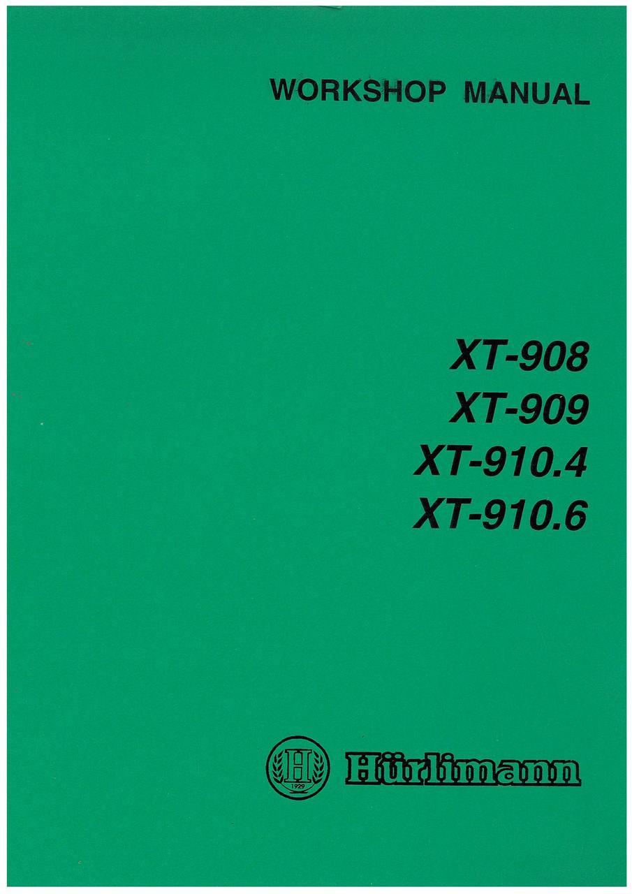 XT 908 - 909 - 910.4 - 910.6 - Workshop manual
