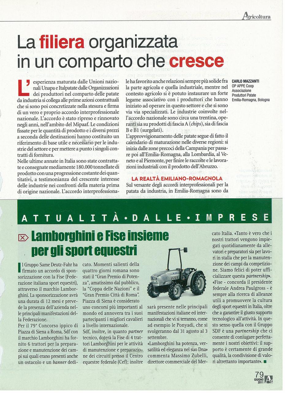 Lamborghini e Fise insieme per gli sport equestri