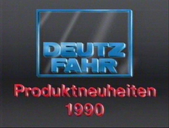Produktneuheiten 1990