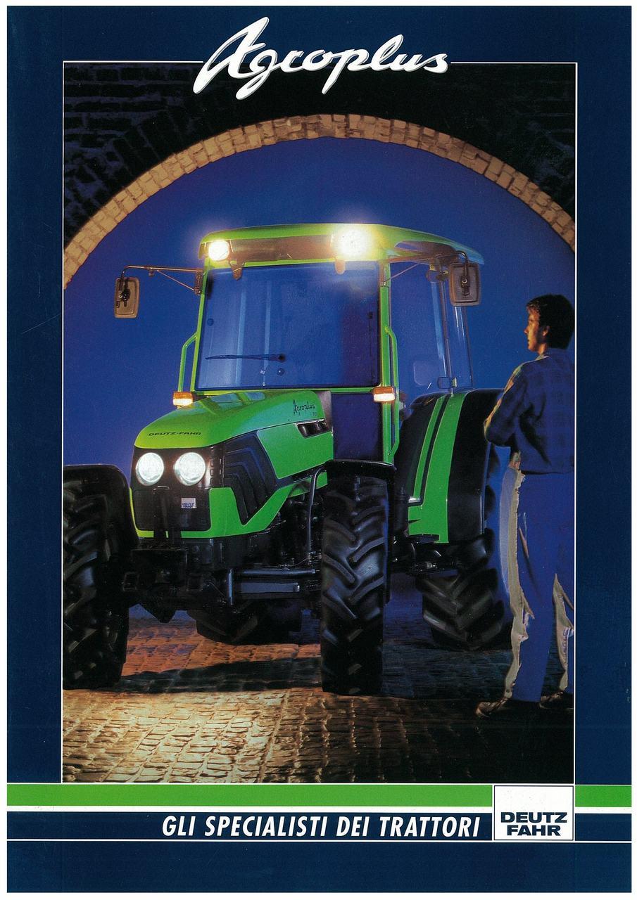 AGROPLUS 60 - 70 - Gli specialisti del trattore