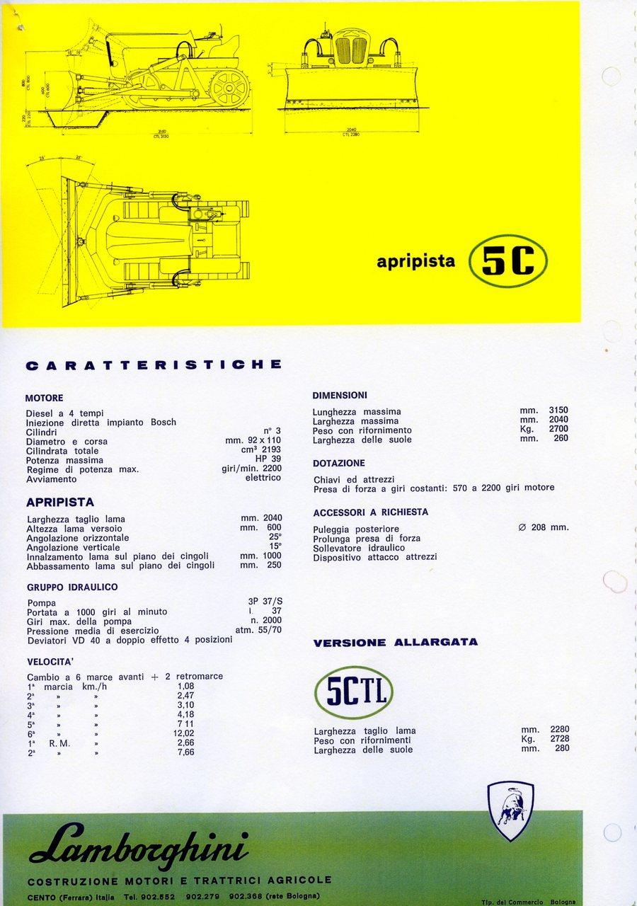 Lamborghini 5 C apripista
