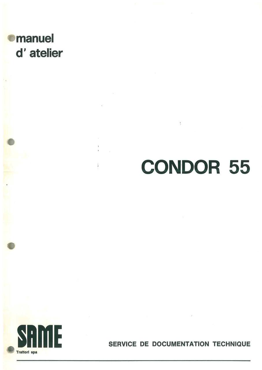 CONDOR 55 - Manuel d'atelier