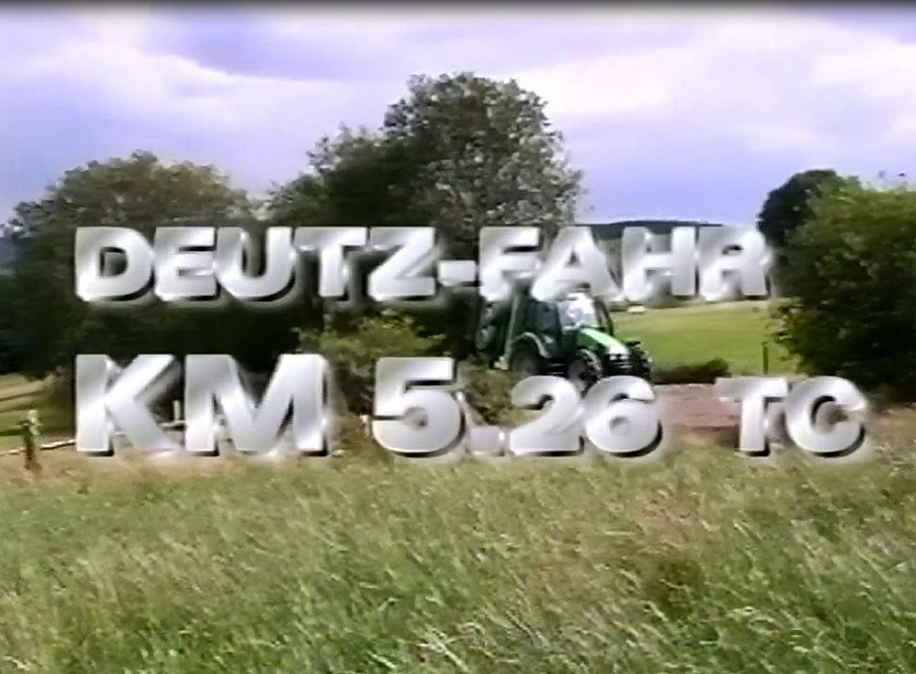 Deutz-Fahr KM 5.26 TC