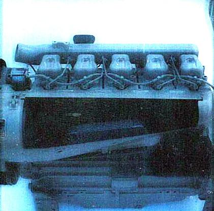 Motore ADIM per uso industriale - 5 cilindri