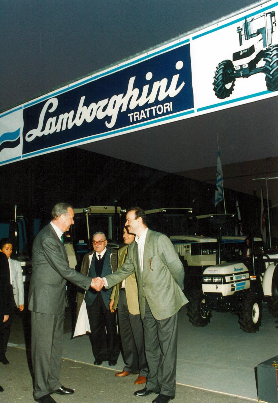 Esposizione locale Lamborghini in Veneto presso il concessionario Soffiati