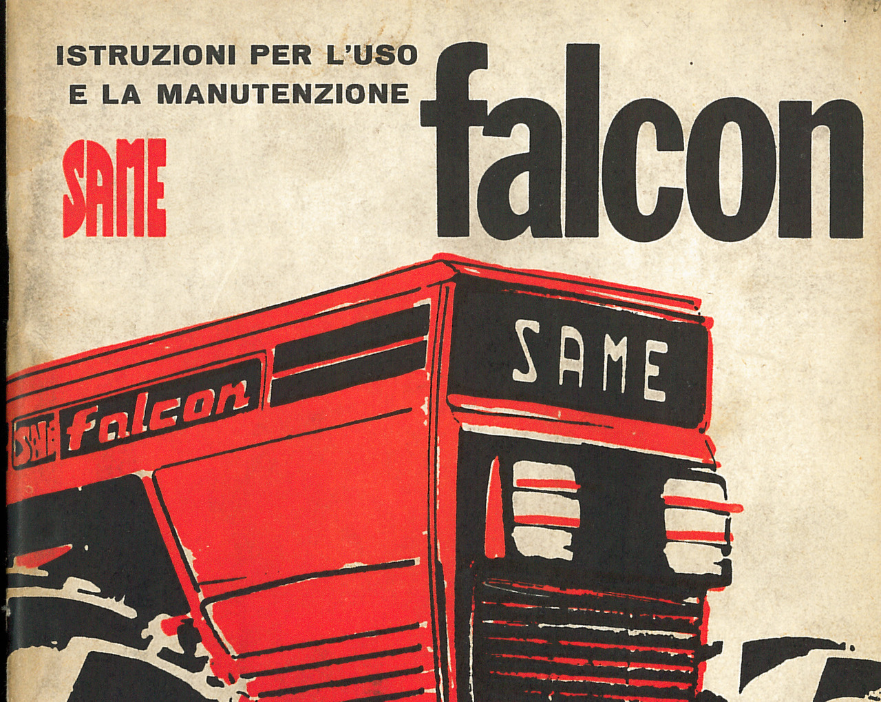 FALCON - Libretto uso e manutenzione
