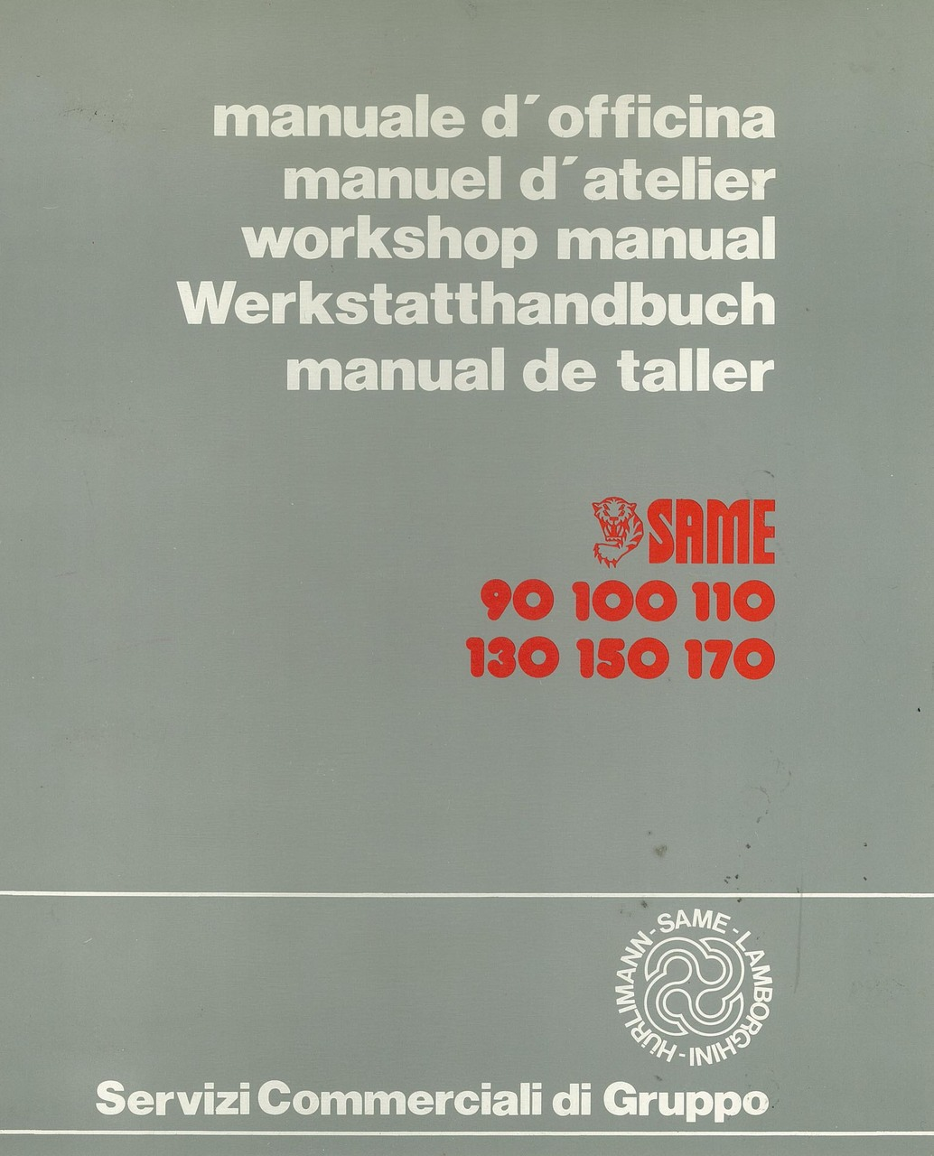 LASER 90-100-110-130-150 - GALAXY 170 - Manuale d' officina
