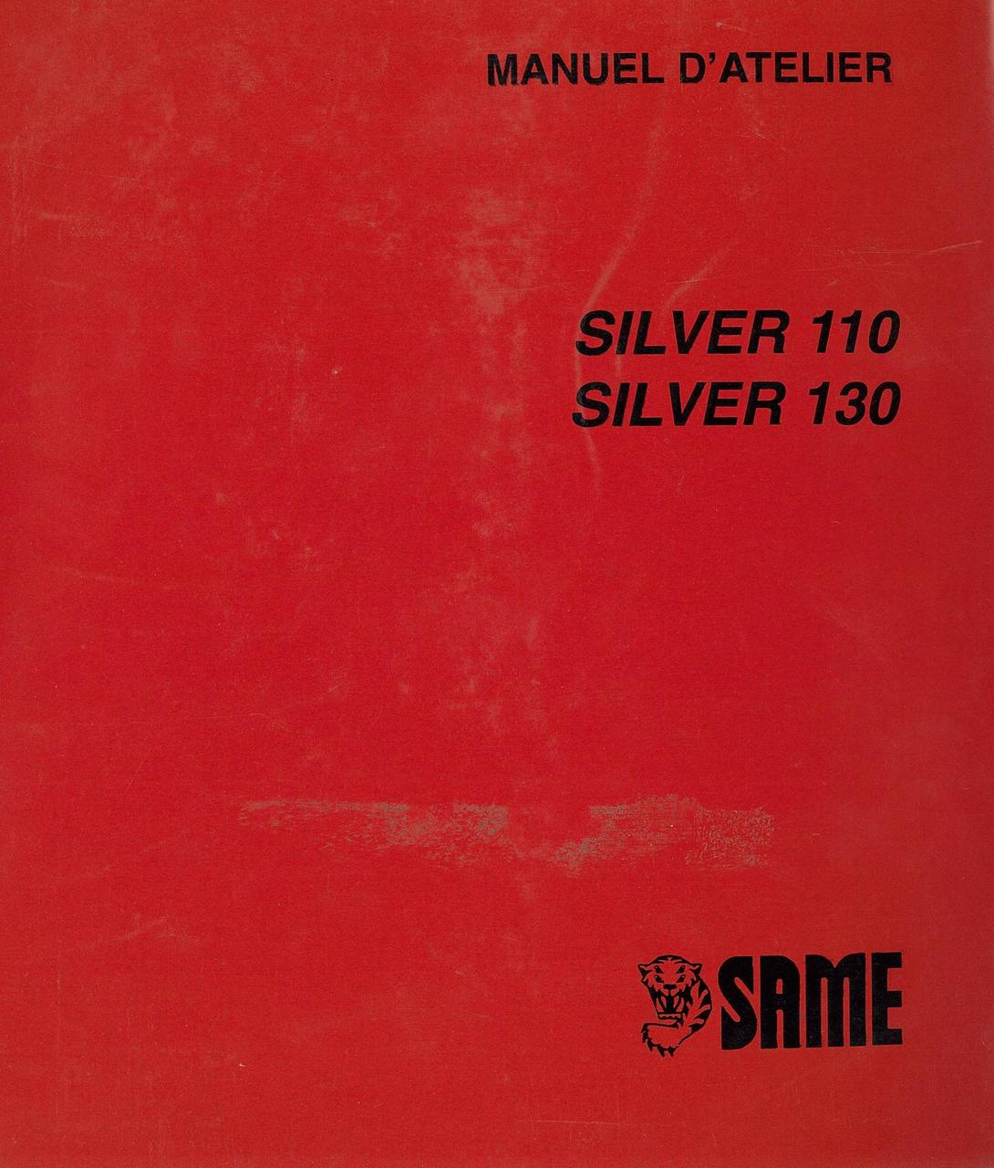 SILVER 110-130 - Manuel d'atelier