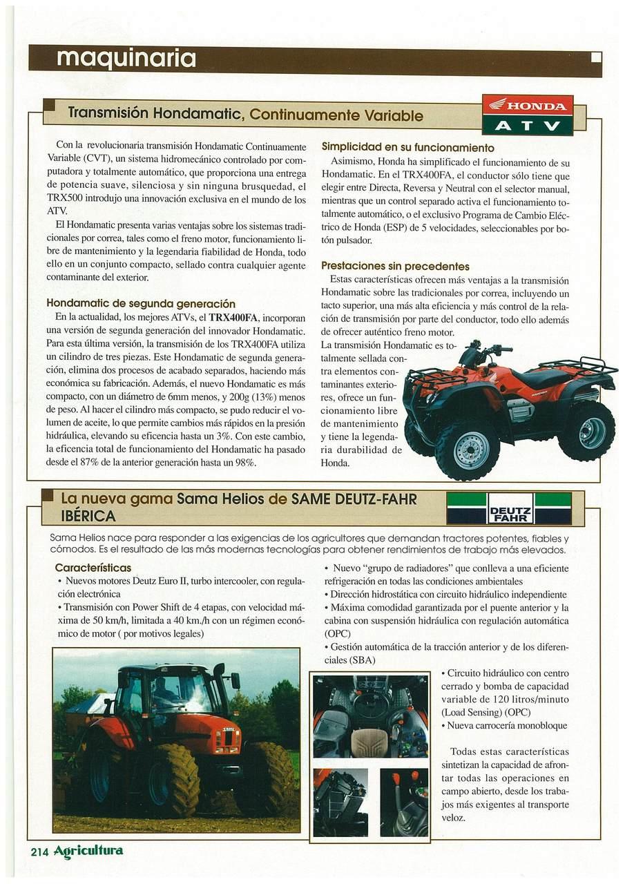 La nueva gama SAMA Helios de SAME Deutz-Fahr Ibérica