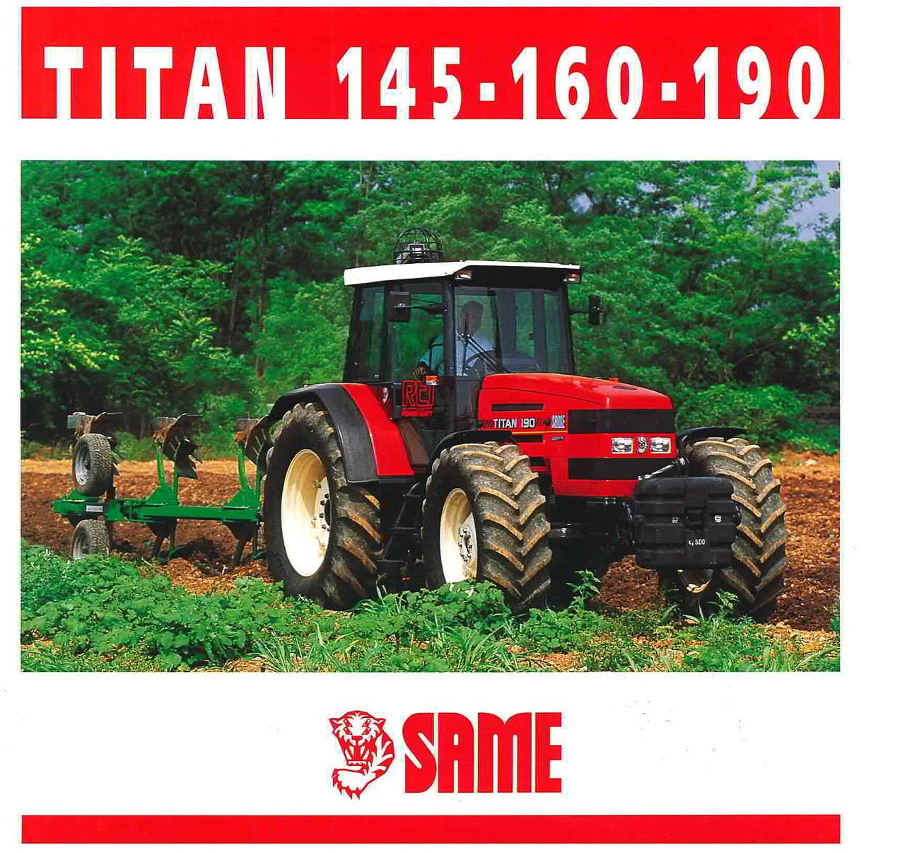 TITAN 145 - 160 - 190