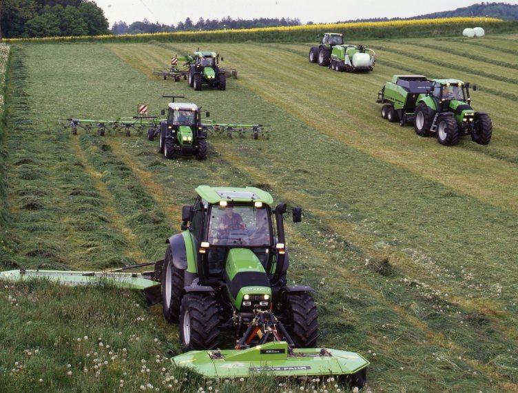 [Deutz-Fahr] trattori Agrotron e Agroplus prove in campo