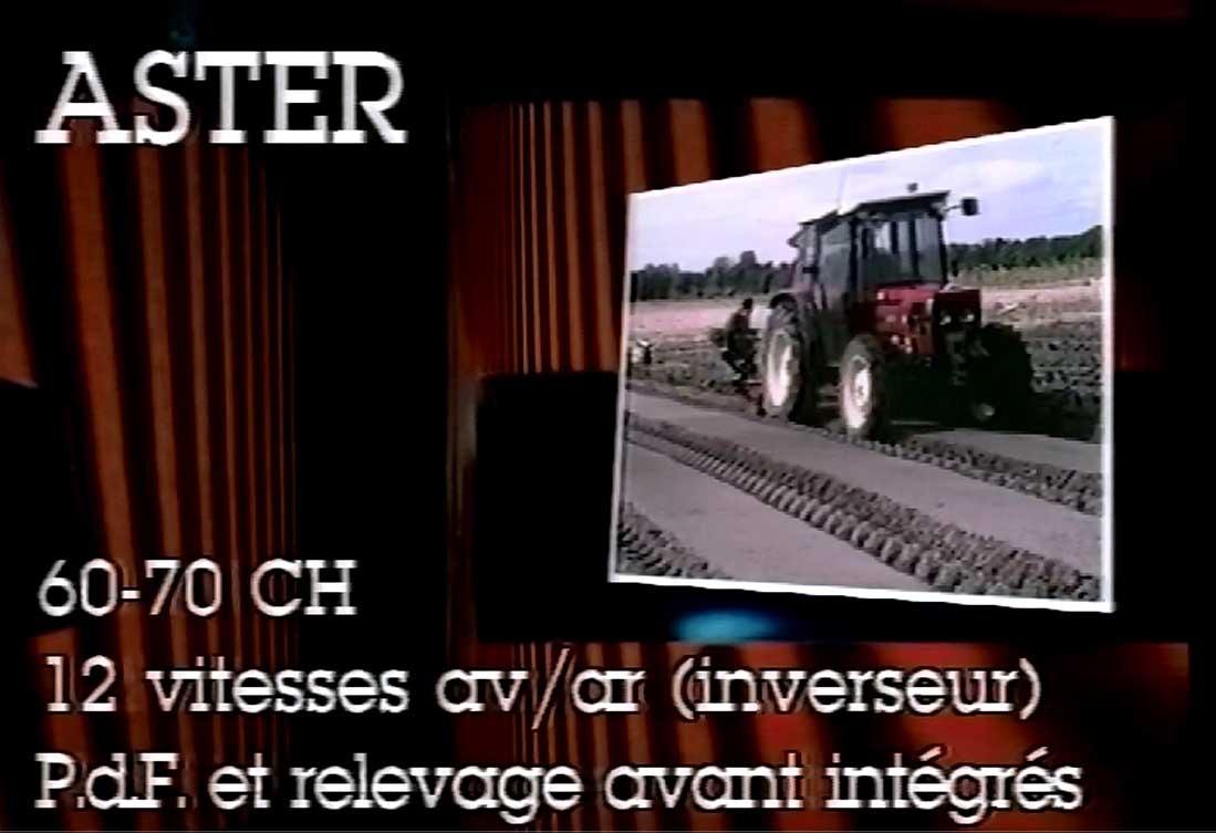 Vari modelli di trattori SAME