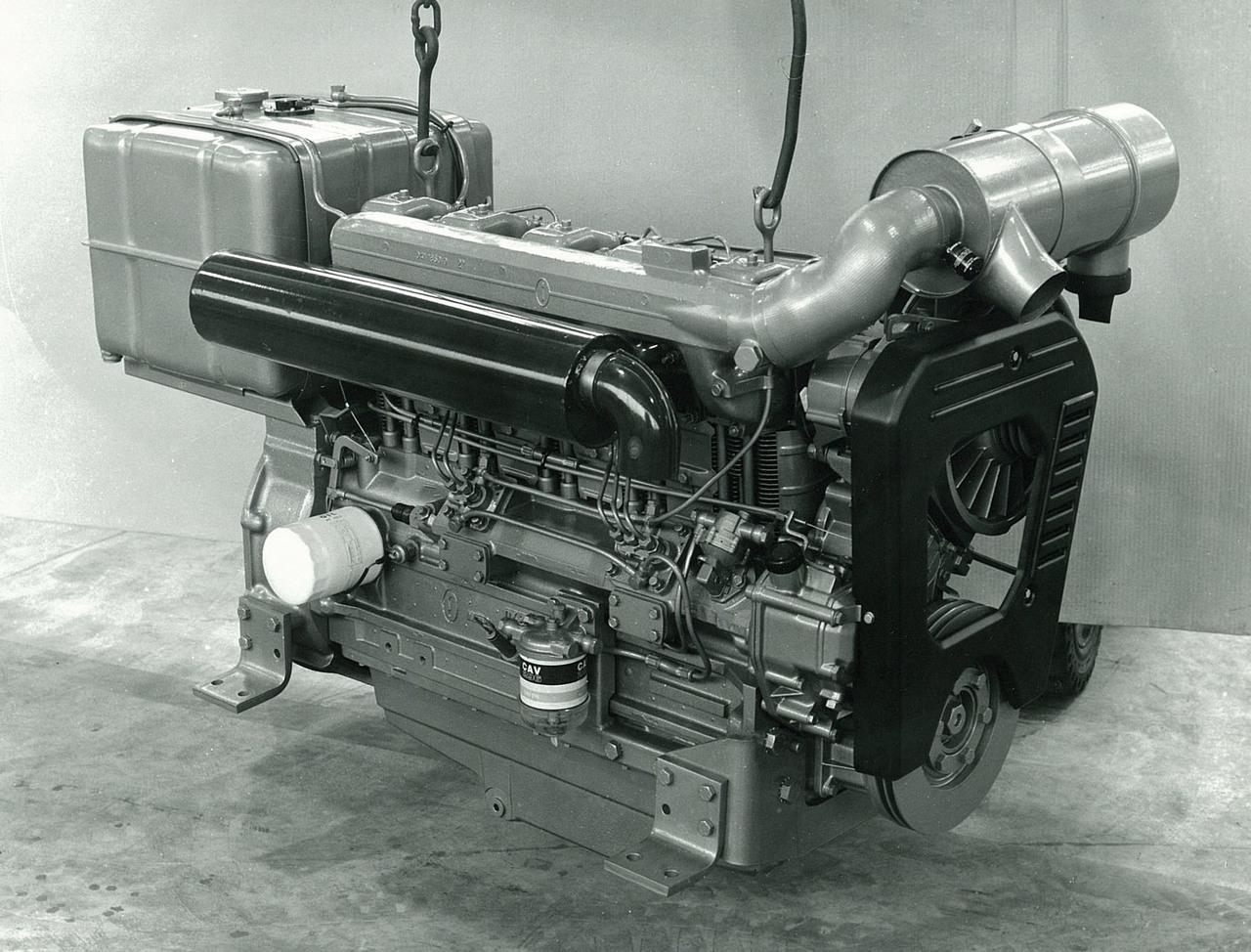 Motore SAME/ADIM serie P per uso industriale - 5 cilindri