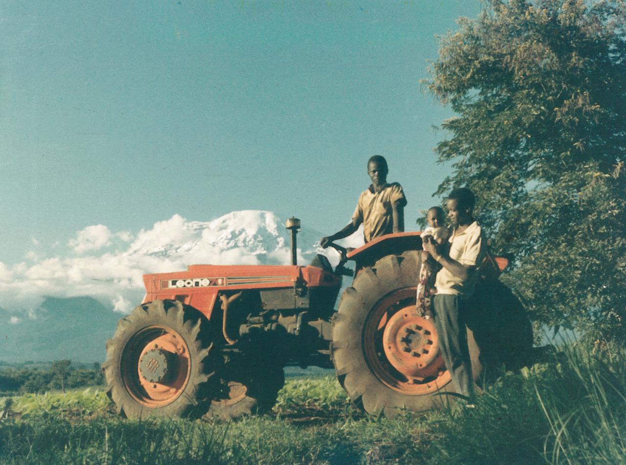 Trattore SAME Leone 70 in Tanzania