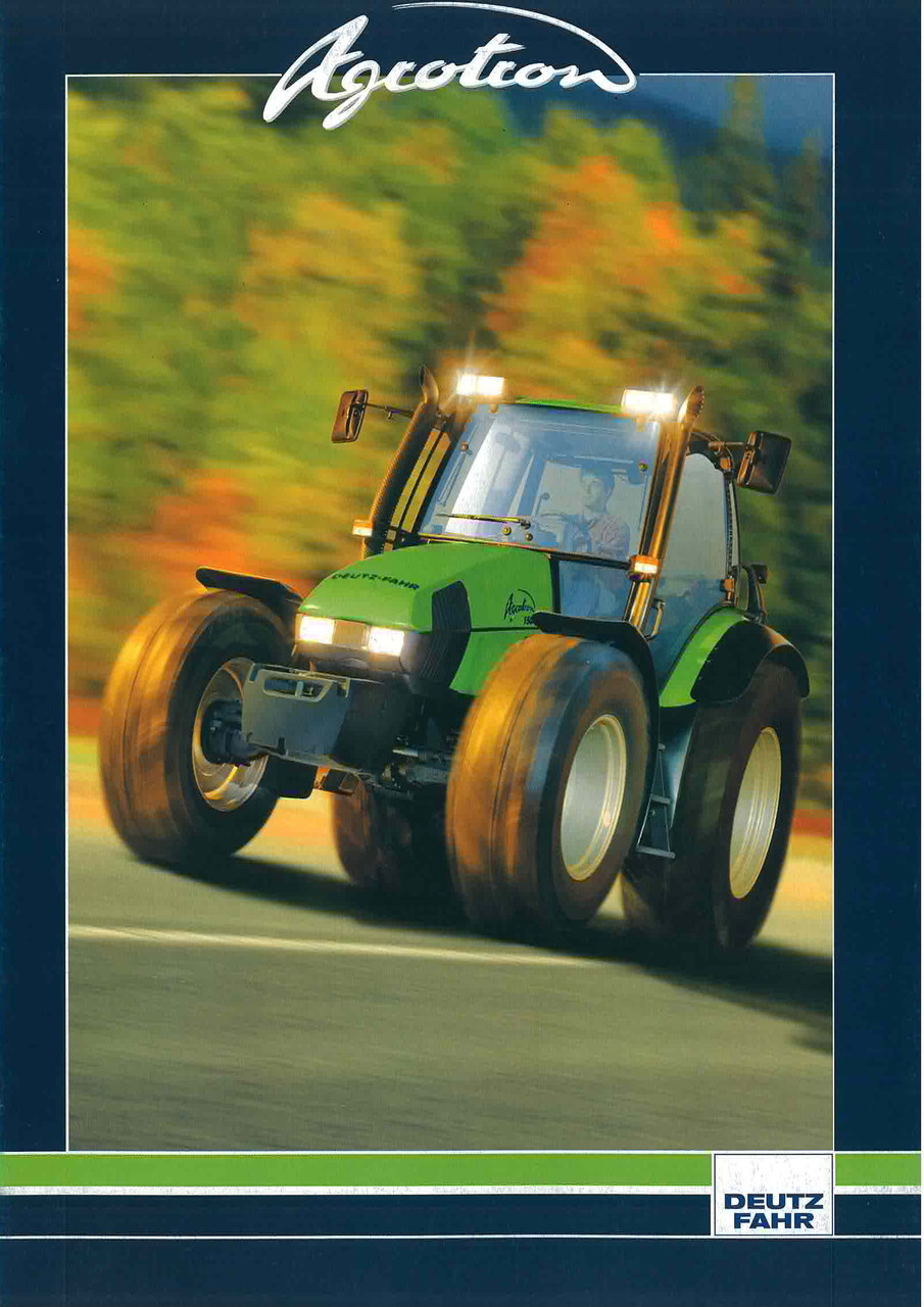 AGROTRON 80- 85 - 90 - 100 - 105 - 106 - 110 - 120 - 135 - 150