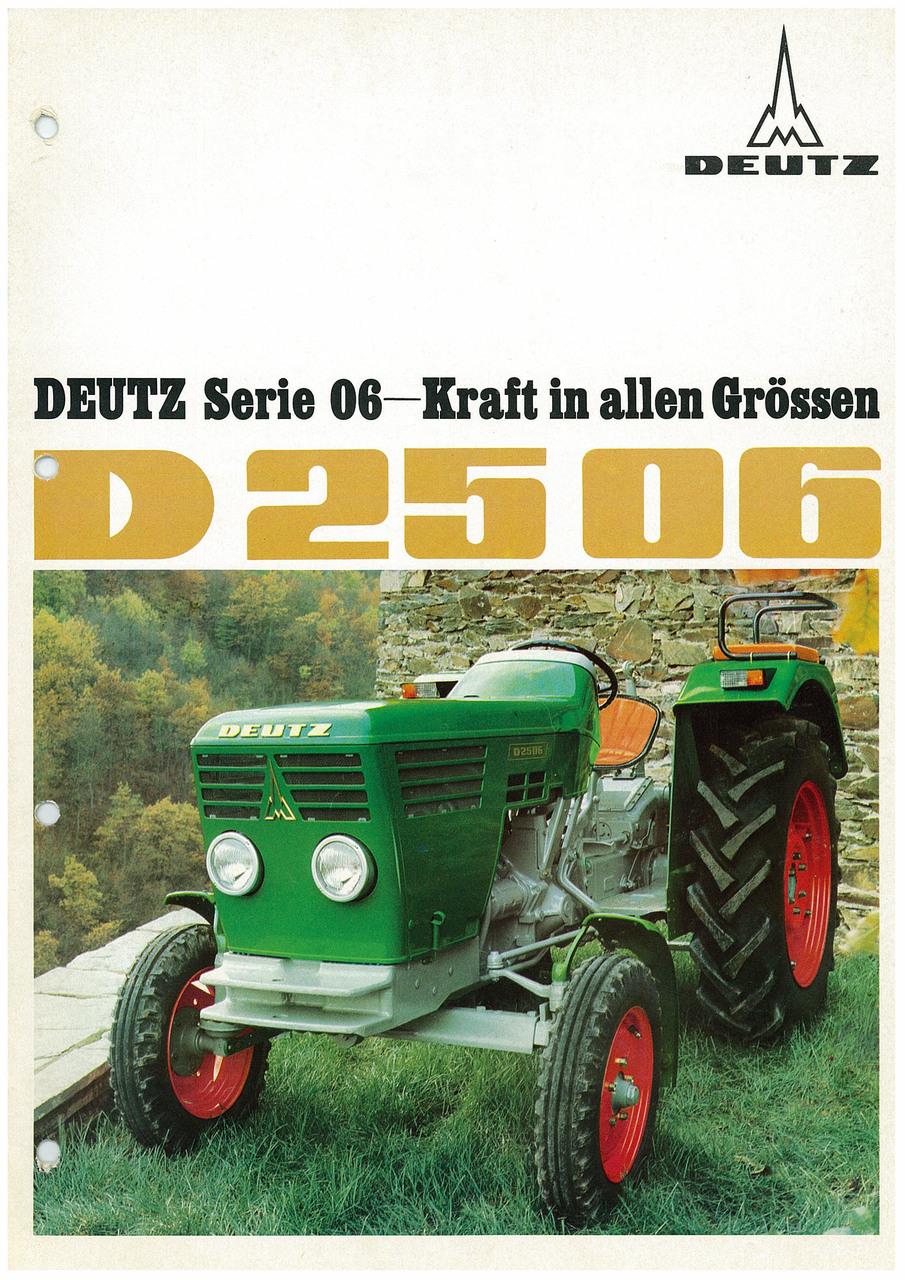 DEUTZ D2506 - KRAFT IN ALLEN GRÖSSEN