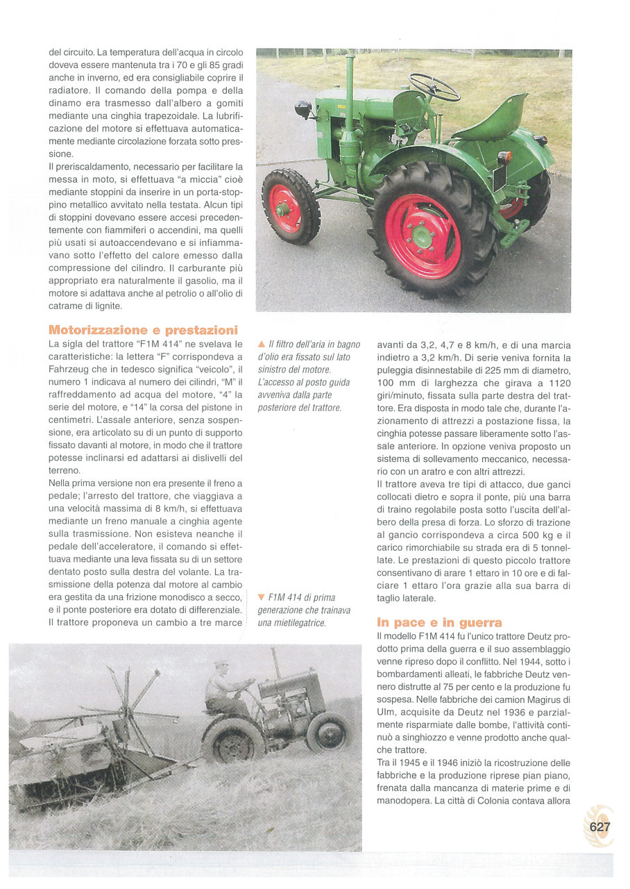 """Deutz FIM 414: il """"trattore del popolo"""""""