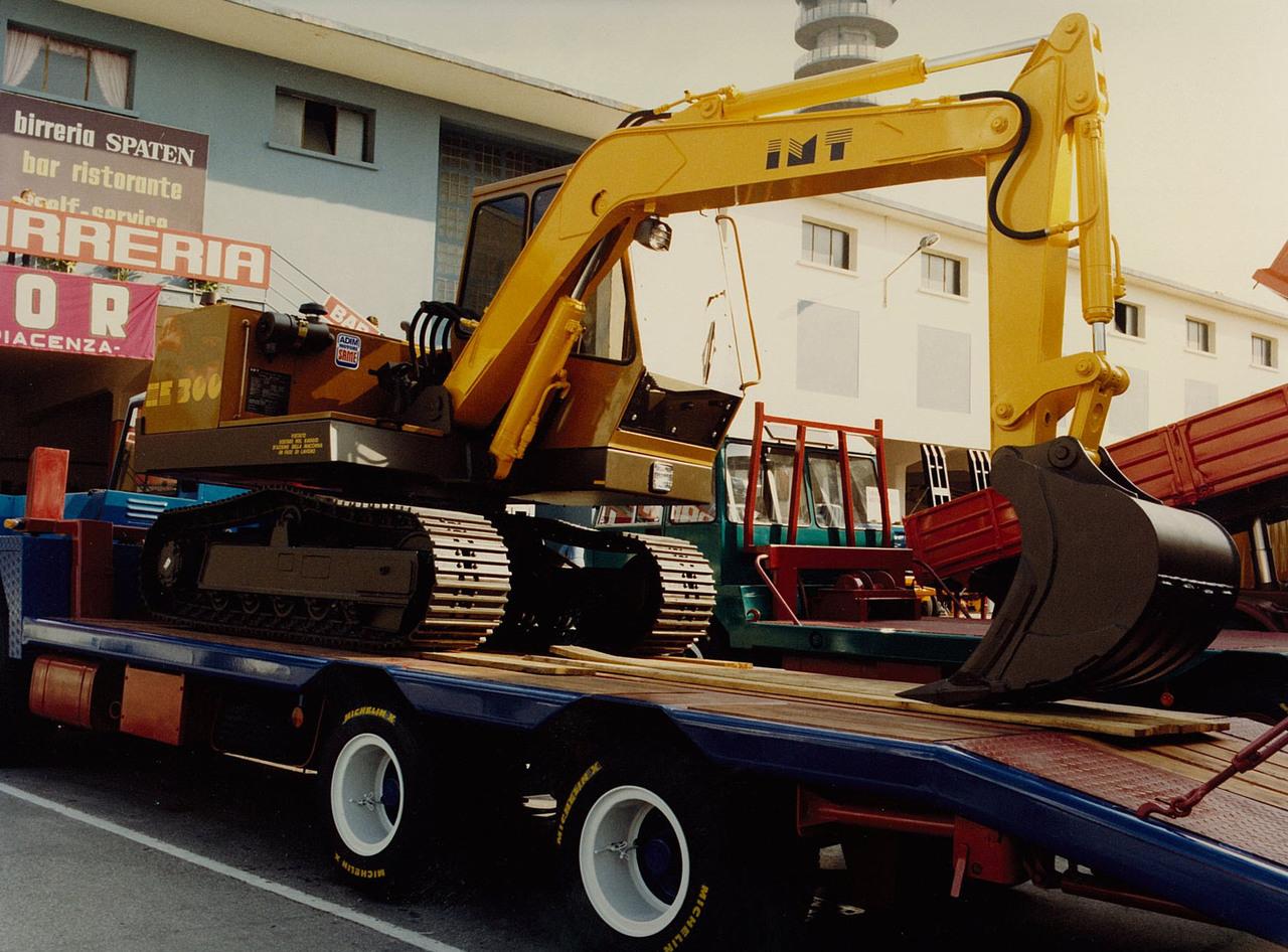 Motore ADIM per escavatore