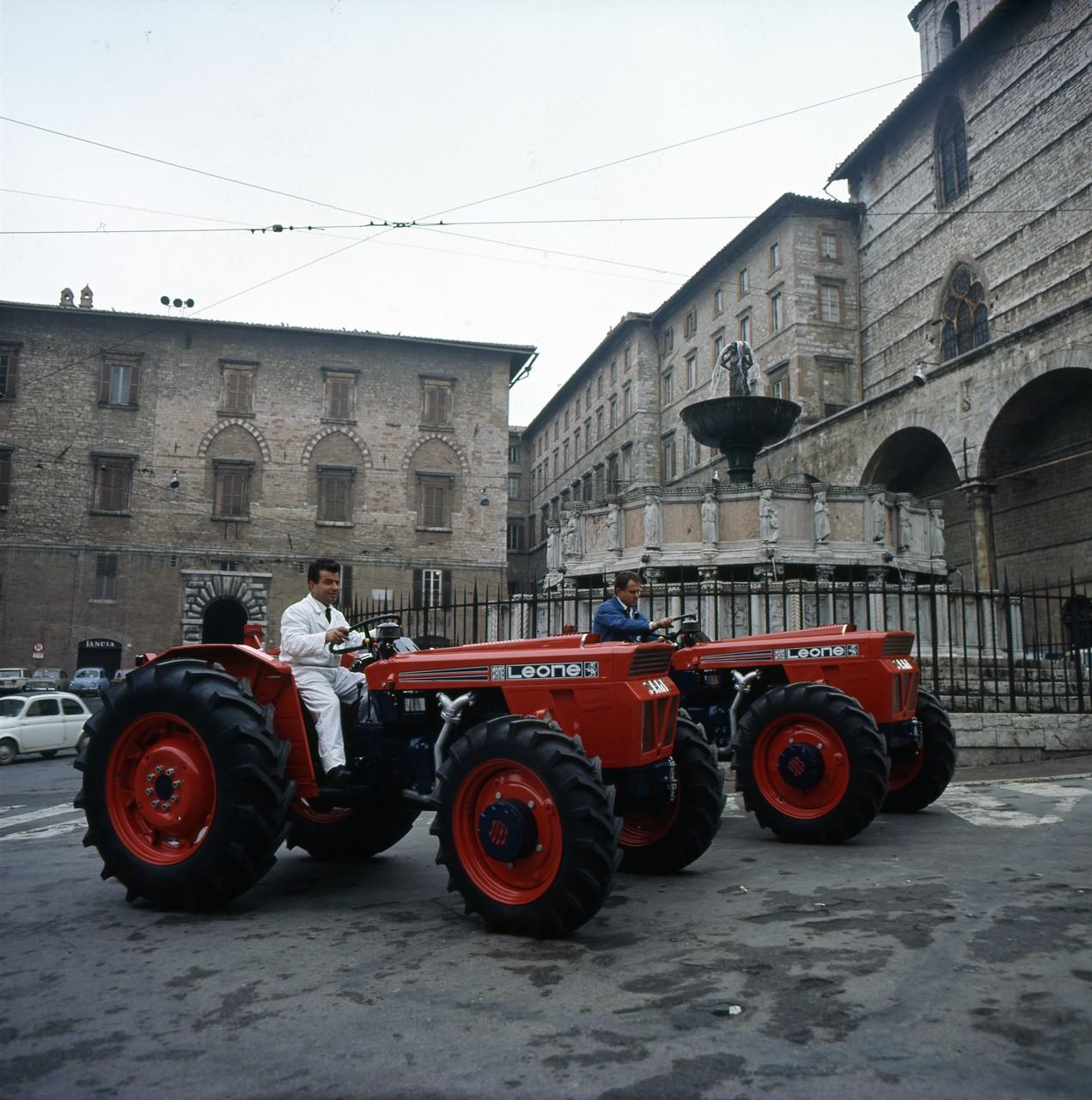 """Lancio """"Leone"""" a Perugia, 28/2/1967"""