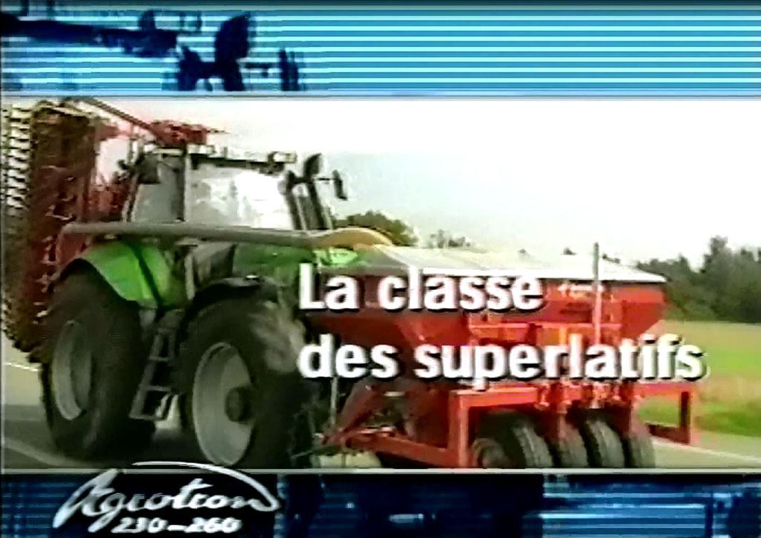 Agrolux 60-70 - Agrotron MK3 - Agrotron 230-260 - Agrotron TTV