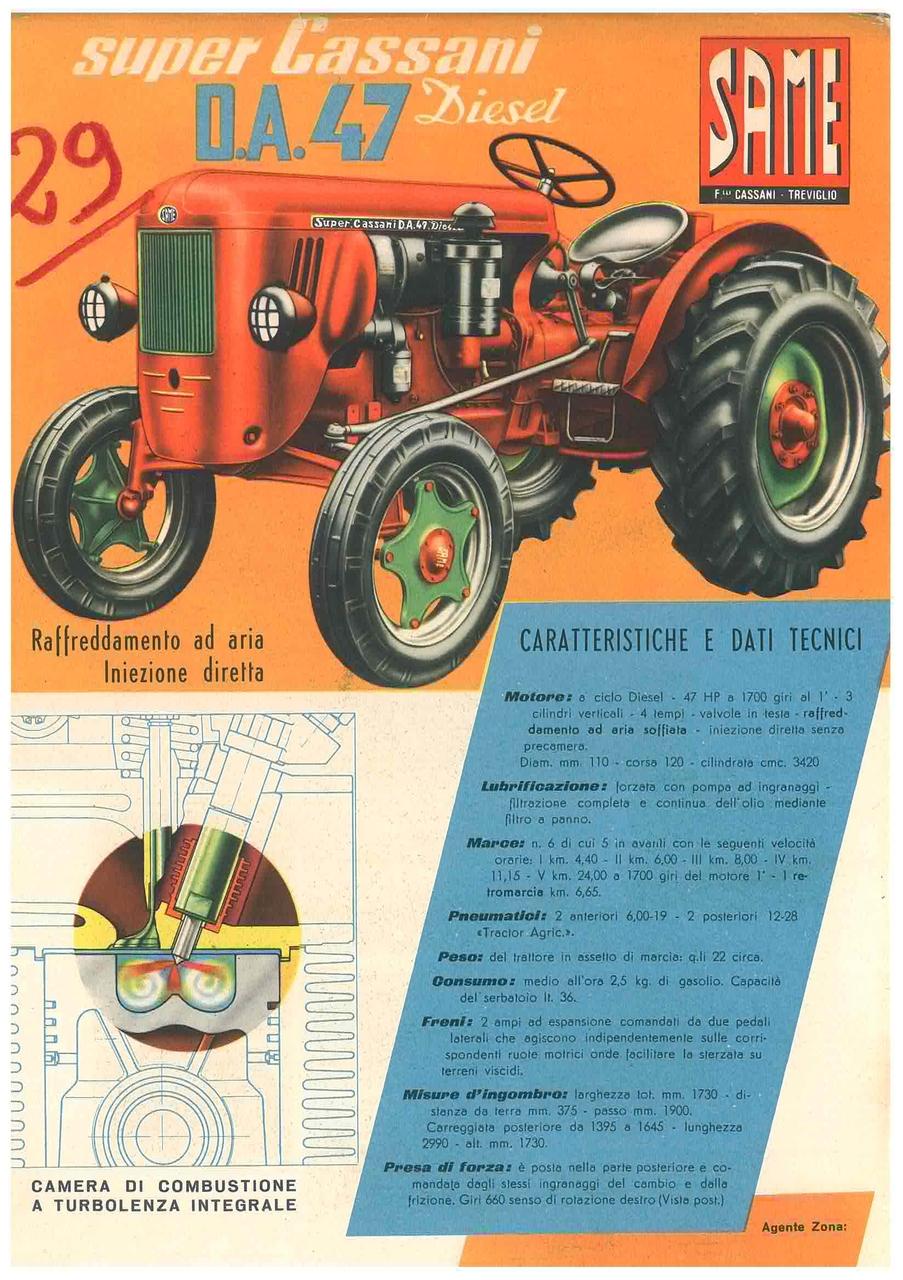 Super Cassani DA 47 Diesel