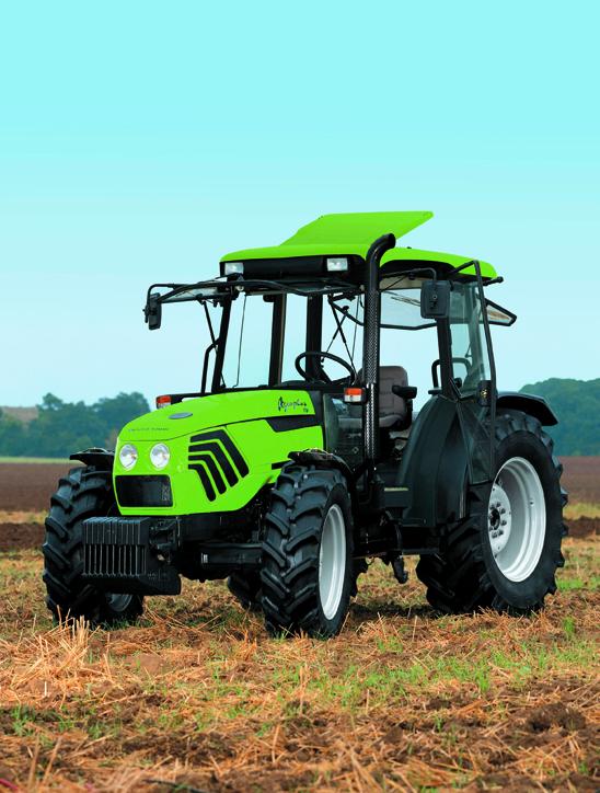 [Deutz-Fahr] trattori serie Agroplus in studio e al lavoro