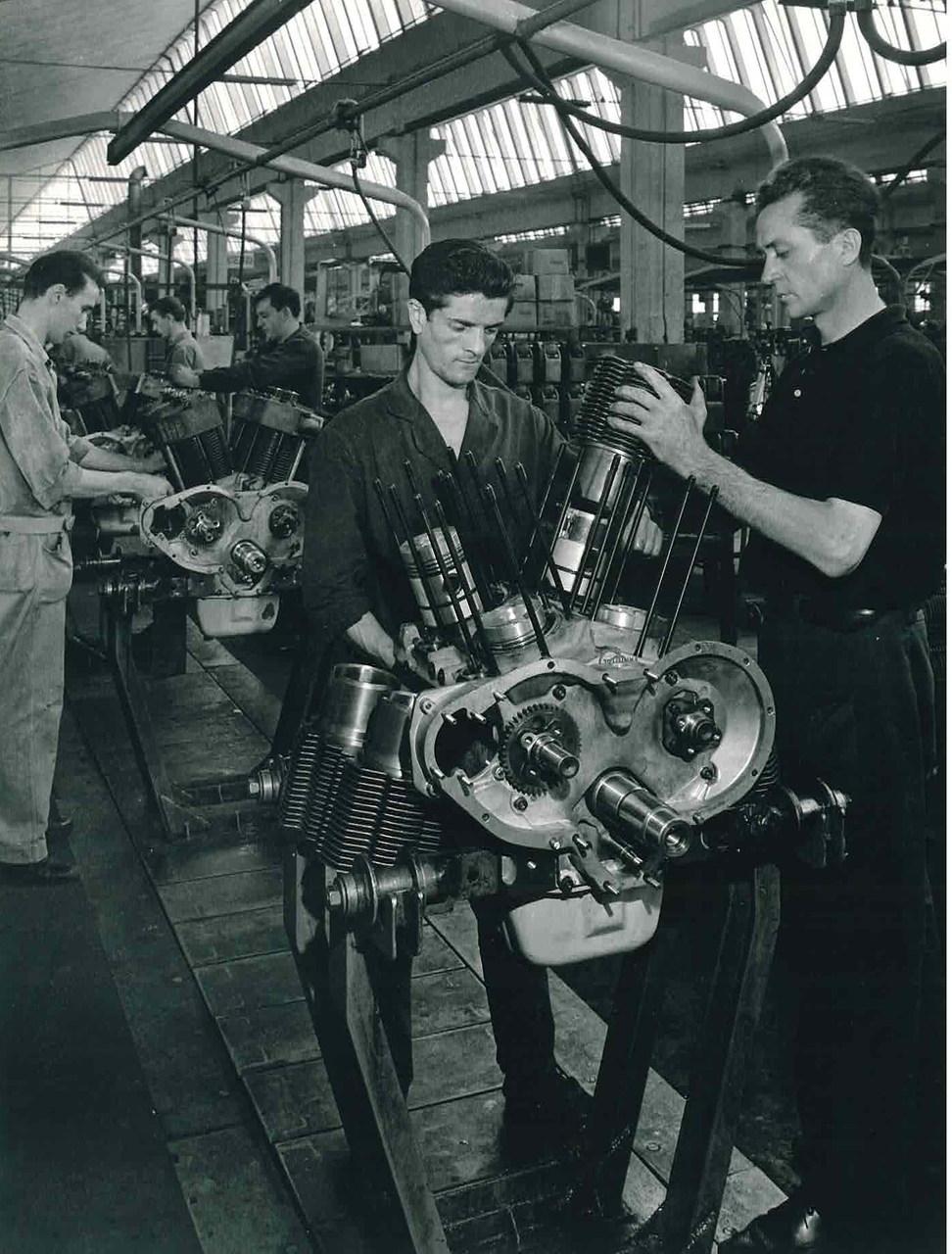 Stabilimento Same - Linea montaggio motori