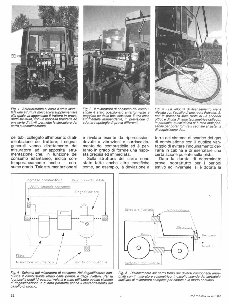 Attrezzature,strumentazione e software per prove trattori