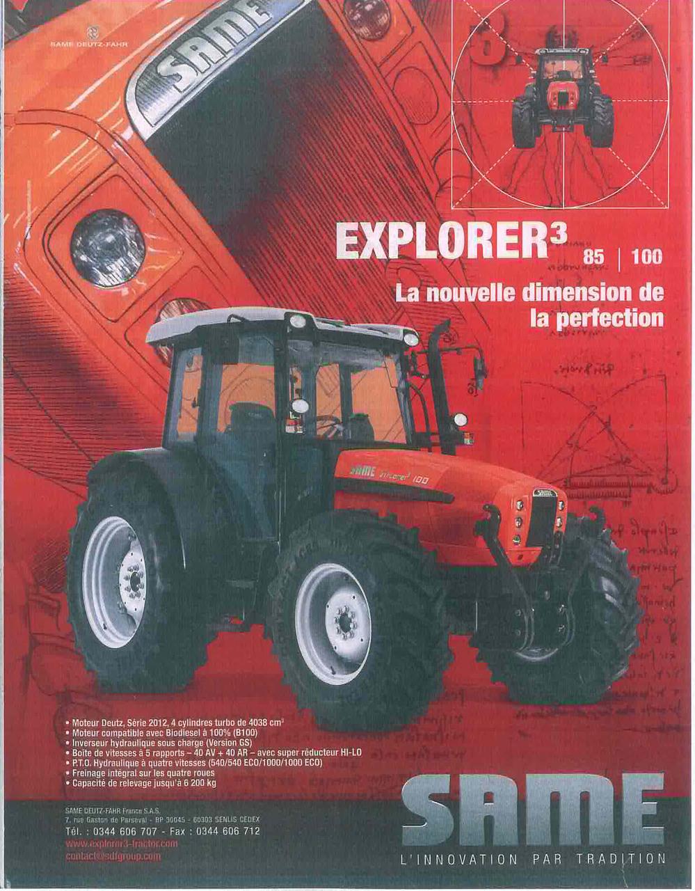 EXPLORER 3 85 - 100 La nouvelle dimension de la perfection