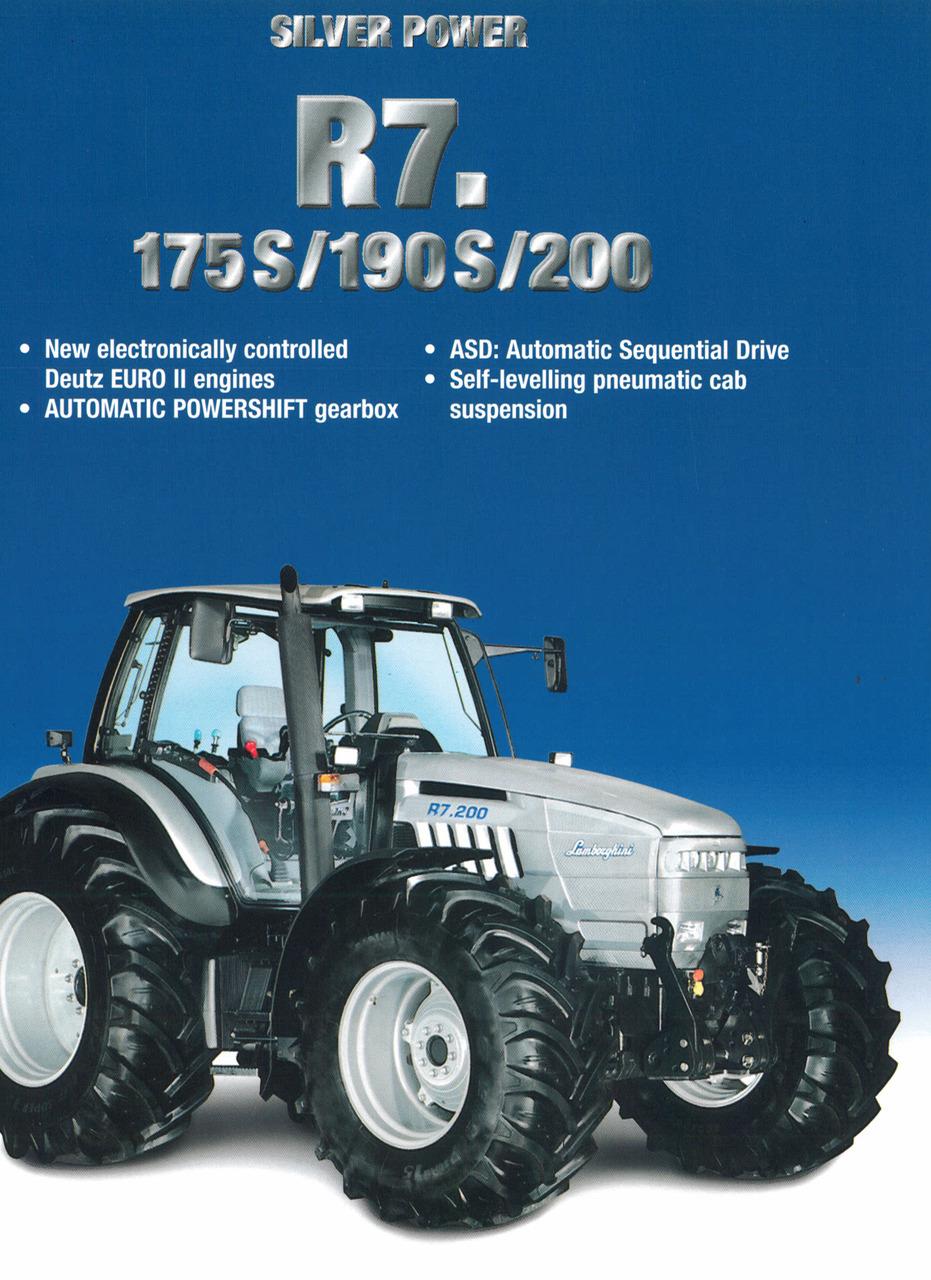 R7 175 S - 190 S - 200