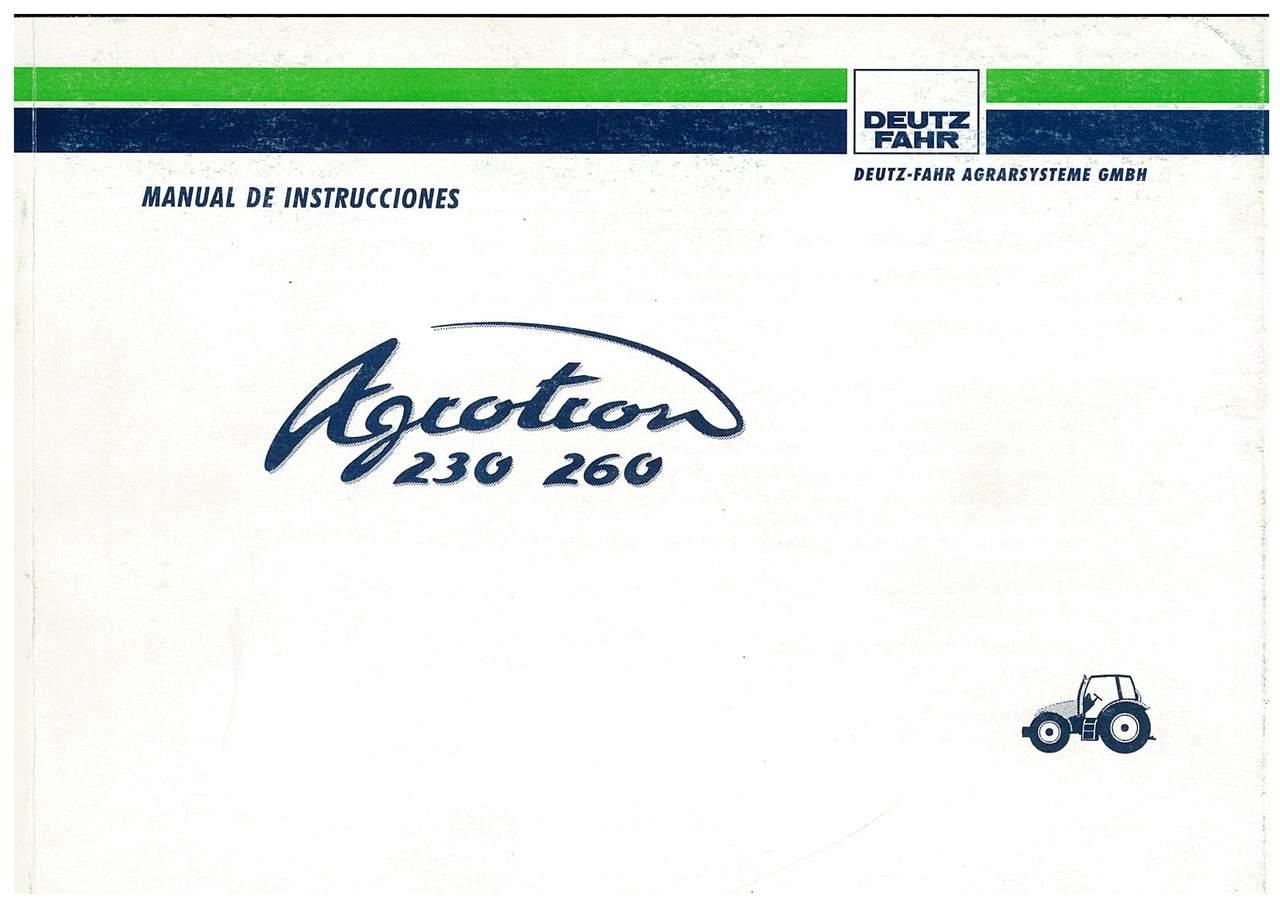 AGROTRON 230-260 - Uso y Mantenimiento