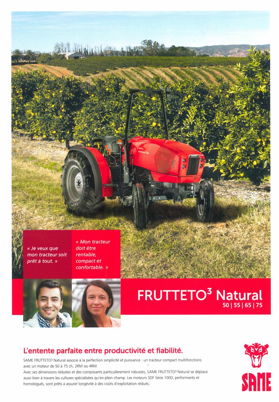 FRUTTETO³ NATURAL 50-55-65-75