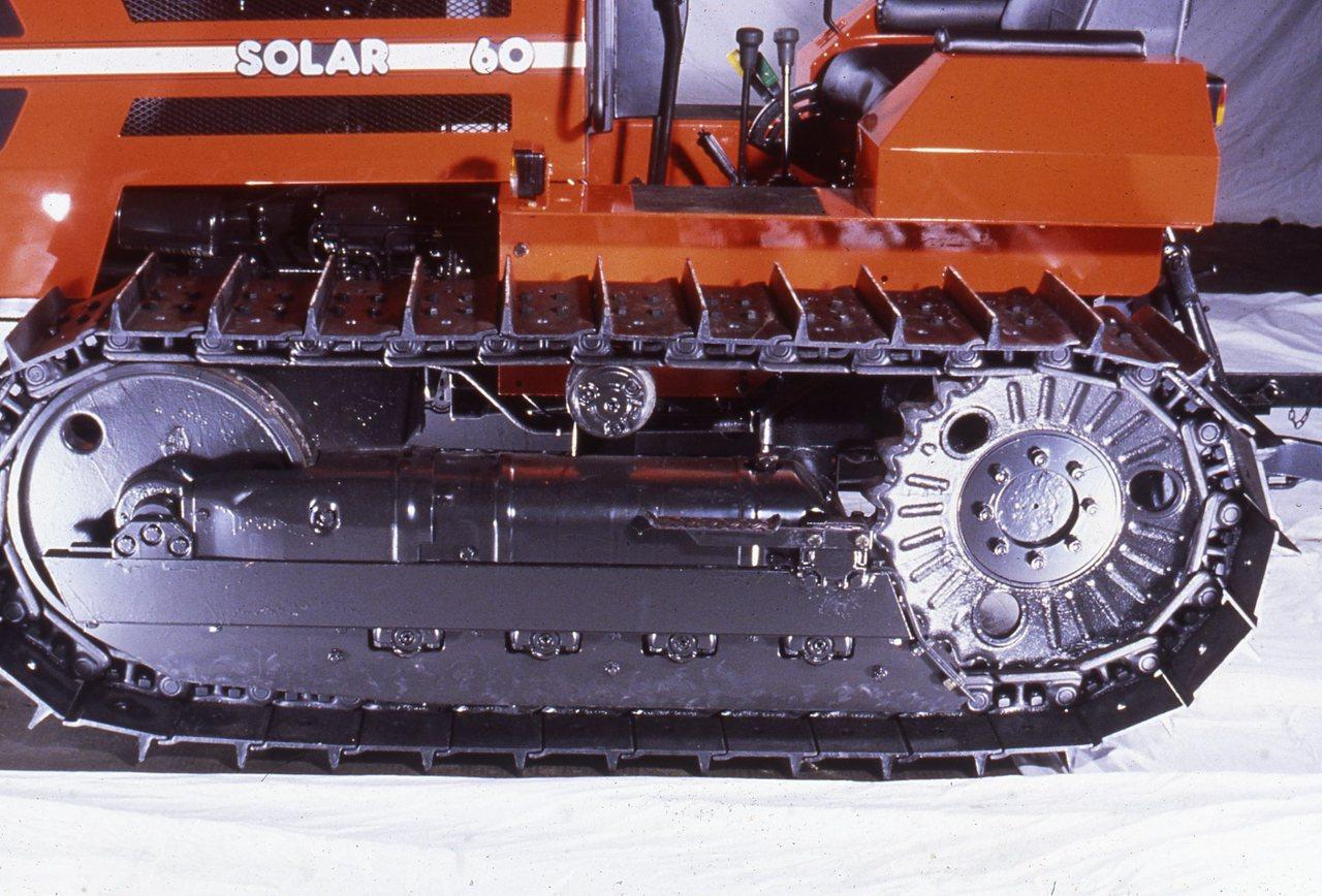 [SAME] particolare cingolo trattore Solar 60